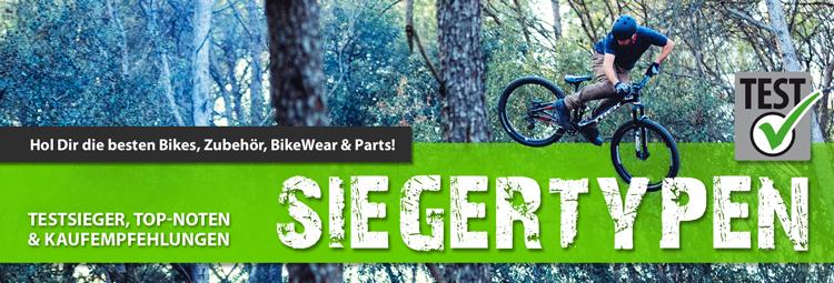 Das Beste für Dich und Dein Bike - Testsieger die überzeugen
