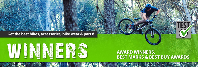 Only the best for you and your bike – test award winners