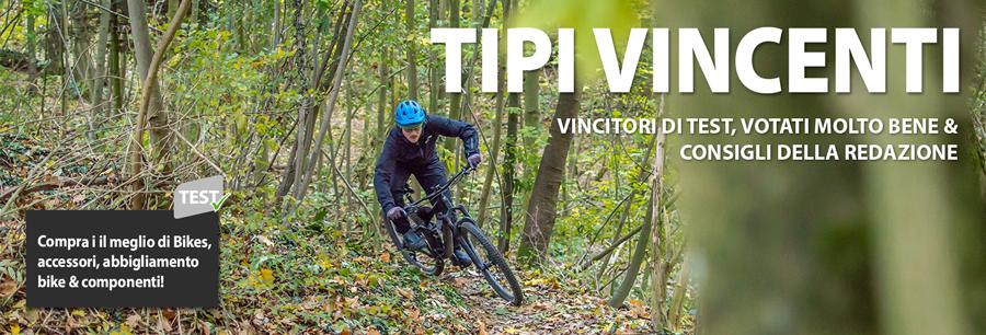 Il meglio, per te e per la tua Bike – Prodotti vincitori di test