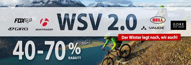 WSV Angebote - bei Fahrradbekleidung & Fahrradteilen bis zu 70% sparen online bei hibike.de