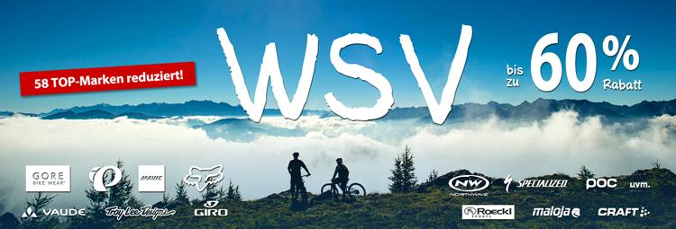 WSV Angebote - bei Top-Marken bis zu 60% sparen online bei hibike.de