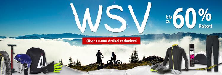 WSV Angebote - Fahrradbekleidung, Fahrradteile & Zubehör günstig! Bis 60% sparen online bei hibike.de