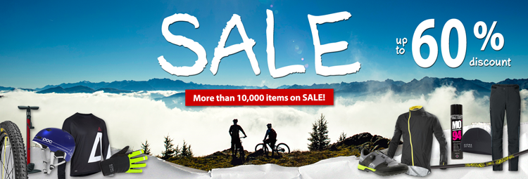 Winter sale offers - bicycle clothing, bicycle parts & accessories at low prices! Save up to 60% online at HIBIKE