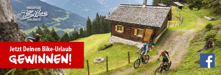 Gewinne jetzt Deinen Bike-Urlaub