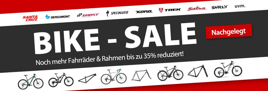 Bike-SSV: bis zu 35% auf Fahrräder
