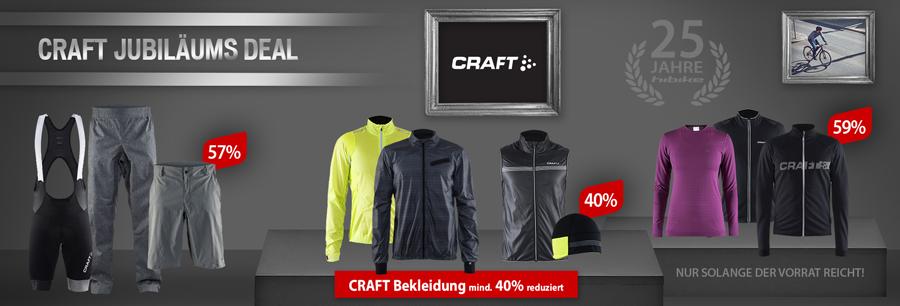 CRAFT Bekleidung mind. 40% reduziert