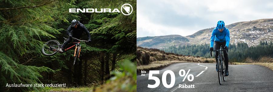 Spare 50% bei Endura Fahrradbekleidung