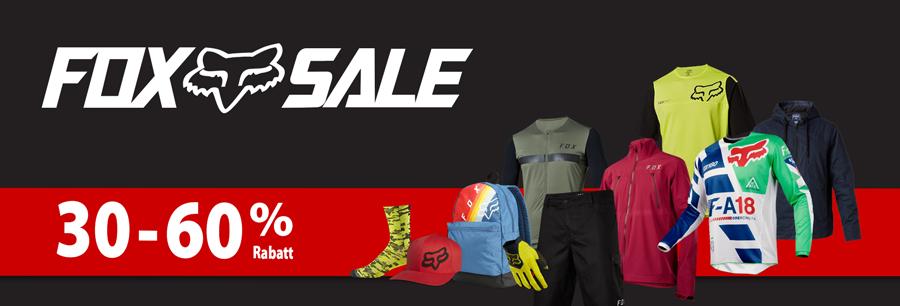 FOX Sale- Einzelstücke stark reduziert