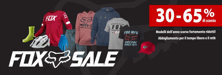 40-60% off FOX apparel