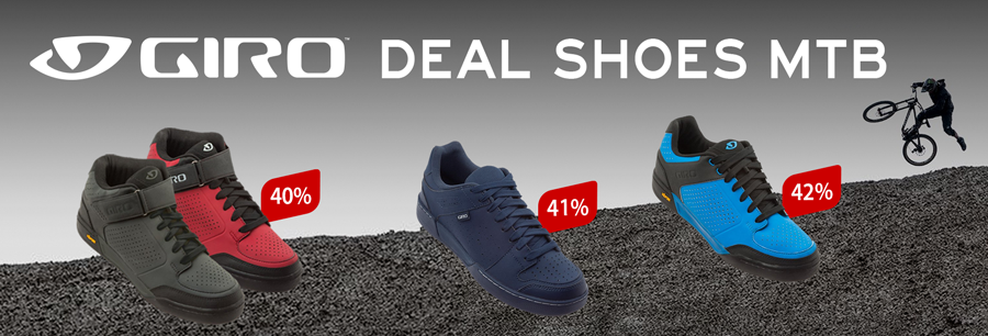 Giro MTB-shoes: save up to 42%