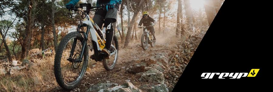 Greyp E-Mountainbike - die smarte und digitale E-Bike Innovation