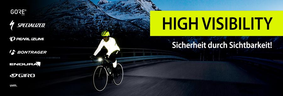 High Visibilty - Sicherheit durch Sichtbarkeit!