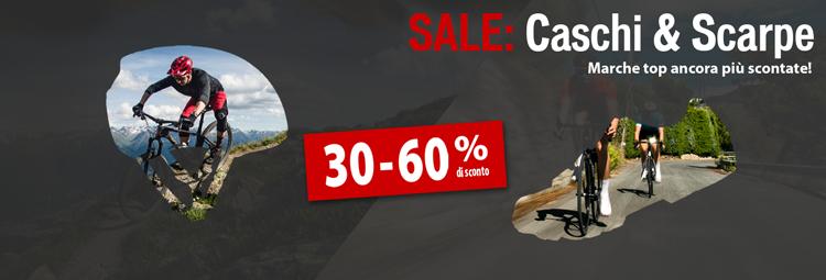 Ancora più sconti: Scarpe & caschi  scontati del 30-60%