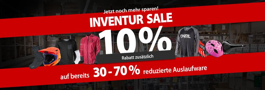 Inventur SALE - zusätzlich 10% sparen!
