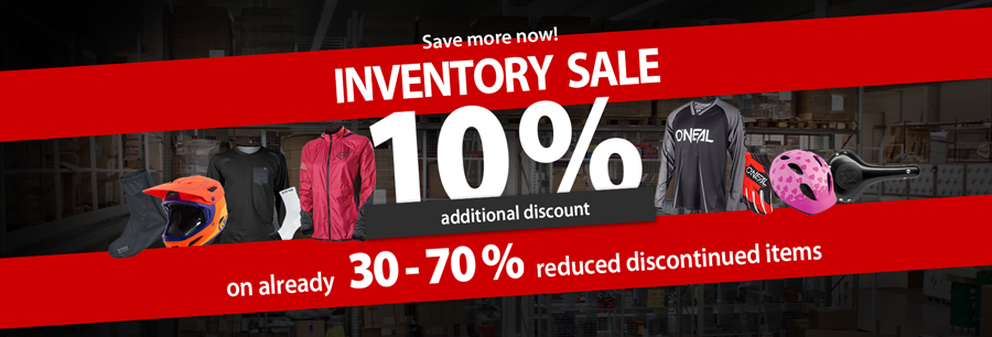Additional 10% discount on inventory items!