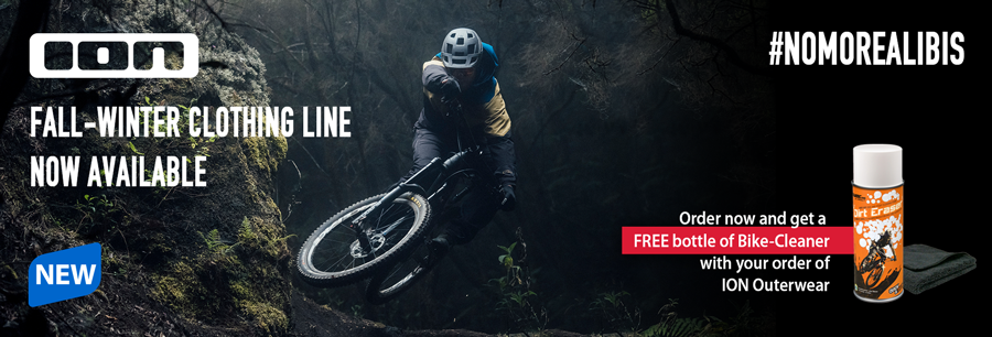 New ION clothing line - be one of the first and get your hands on the new outerwear on hibike.de