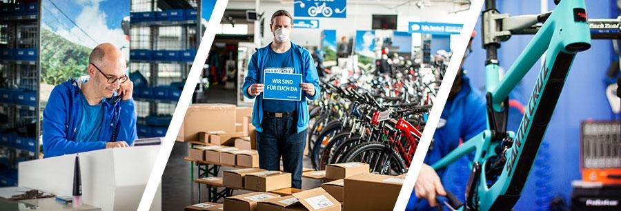 Fahrradladen in Kronberg - Corona Infos