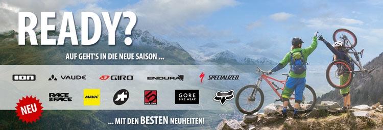 Neue Bike-Bekleidung & Kollektionen 2017