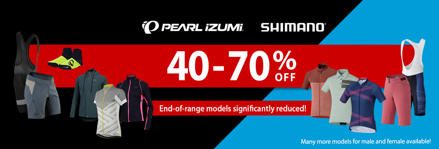 Shimano & Pearl Izumi Sale