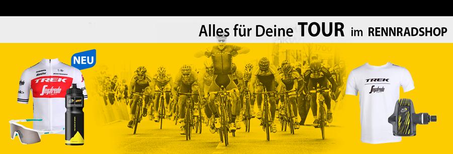 Alles für Rennradfahrer im Rennrad-Shop