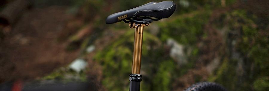 Sattelstützen und Dropper-Posts für dein Fahrrad.