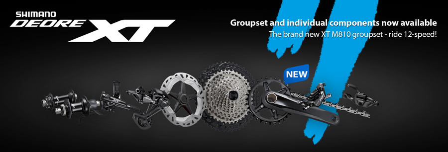 The new Shimano XT M8100 12-speed group - Drivetrain and brake
