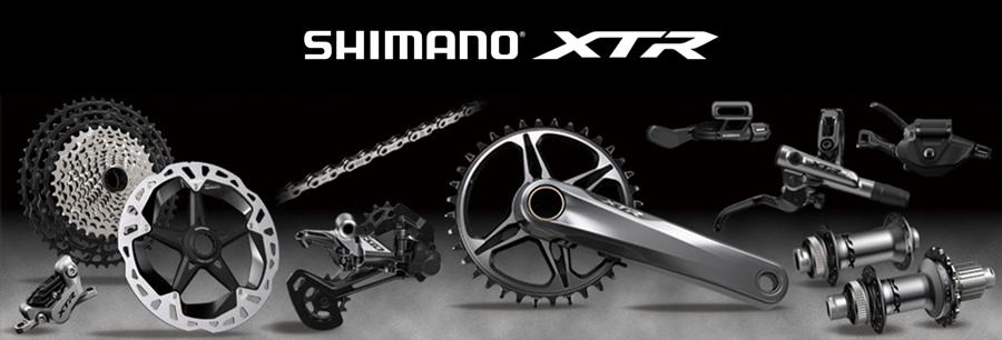 Die neue Shimano XTR M9100 12 fach und 11 fach Gruppe - Antrieb und Bremse