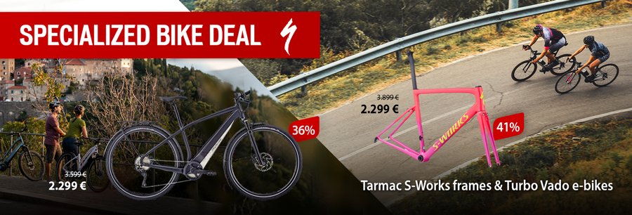 Specialized Bike Deal: save up to 41%