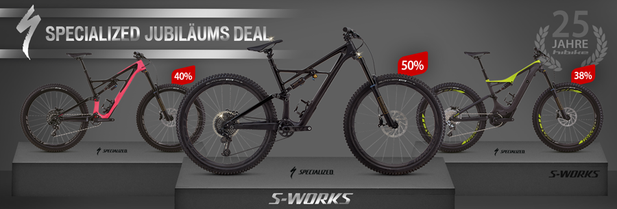 Specialized Full-Suspension Mountainbikes 50% reduziert bei hibike.de