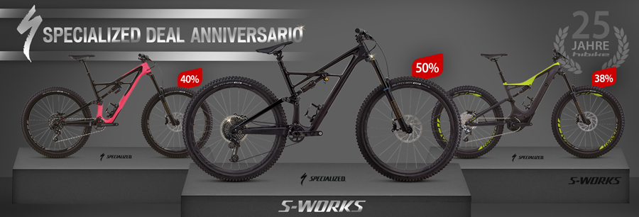 Specialized bici Full-Suspension scontati fino al 50% di hibike.de