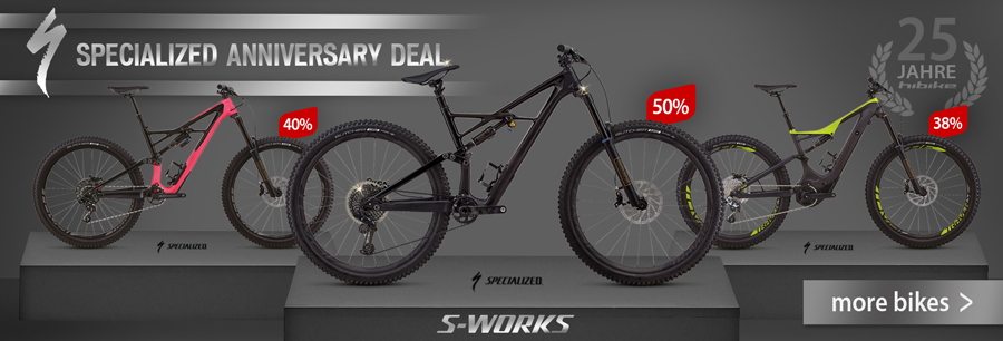 Specialized Bikes reduced by up to 50%