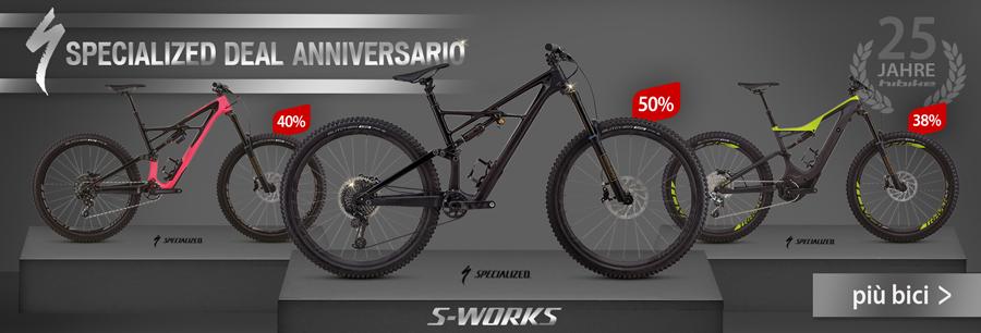 Bici Specialized scontati fino al 50%