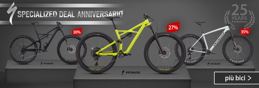 Celebrate our 25th anniversary with selected Specialized MTBs at unbeatable prices