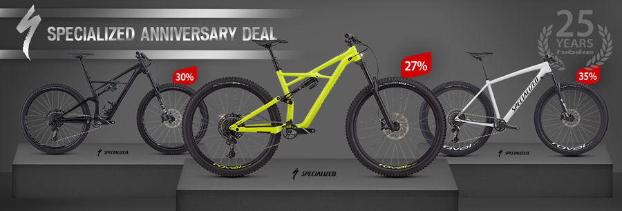 Specialized Anniversary Deal: 27%-36% off MTBs at hibike.de