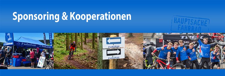 HIBIKE Sponsoring, Partner & Kooperationen