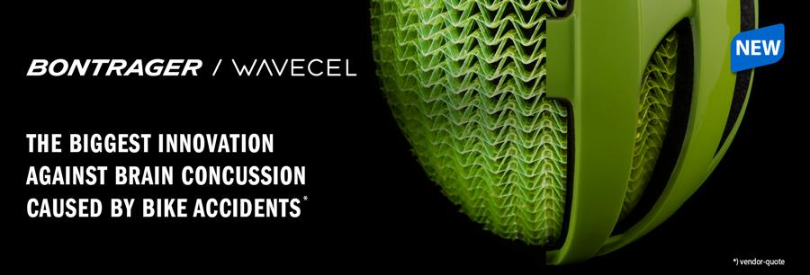 WaveCel: Bontrager bringt den Schutz durch Fahrradhelme auf ein neues Level