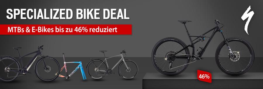 Specialized Bike Deal - bis zu 46% sparen!