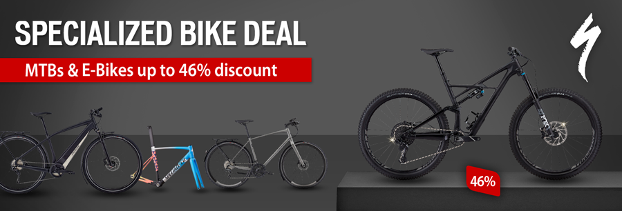 Specialized Deal – reduced by up to 46%!