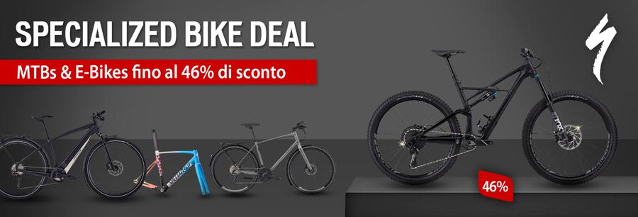 Specialized Bike Deal - risparmia fino al 46%!