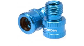 Voxom VAD1 Ventiladapter (Presta frz.Ventil zu Schrader Auto Ventil)