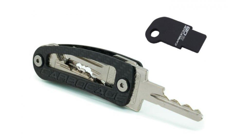 Carbocage Keycage inkl USB Gr. 16GB black