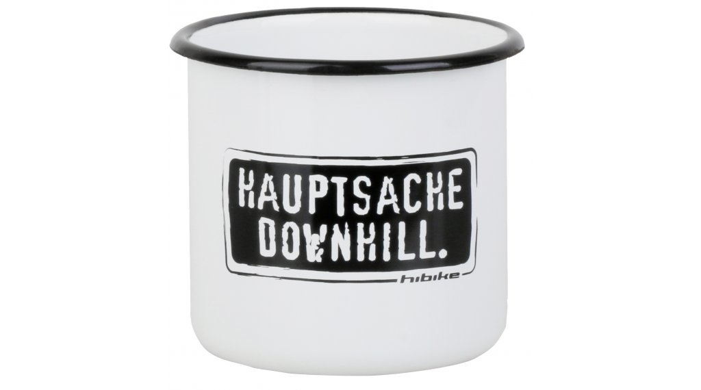 "HIBIKE ""Hauptsache""  Downhill."" Emaille-杯"