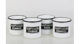 "HIBIKE ""Hauptsache""  Fahrrad."" Emaille-杯"