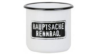 "HIBIKE "" Hauptsache "" Emaille- tazza"