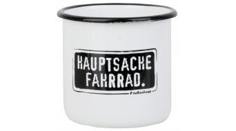 "HIBIKE ""Hauptsache"" Emaille-Tasse"