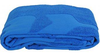 HIBIKE Sauna & Stcontour serviette de bain avec logo bleu