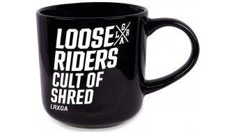 Loose Riders logo Stack tasse noir