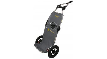 Burley Travoy Transportanhänger grey/negro
