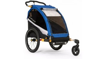 Burley D`Lite Einsitzer rimorchio bici per bambini old scool blue