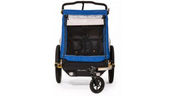 Burley D`Lite Kinderanhänger old scool blue